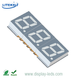 0.39 Inch Three Digit 7 Segment SMD Display