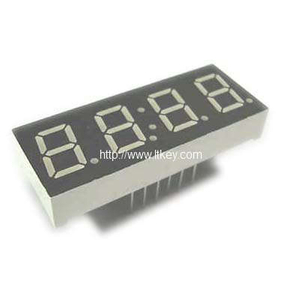 0.39 Inch 4 Digits clock led Display