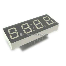0.4 Inch four Digits clock led Display