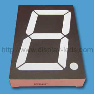 2.3'' (56.8 mm) numeric LED Display with common pin 3 and 8