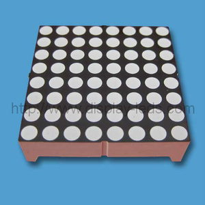 1.5 inch 8x8 LED Dot Matrix
