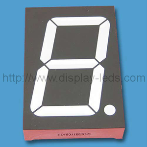 1.8 inch (45 mm) dual color 7 segment LED Display