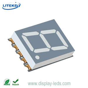 0.51 Inch Single Digit 7 Segment SMD Display