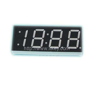 0.33'' four digits 7 Segment led clock Display