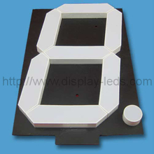 20 Inch LED 7 Segment Display