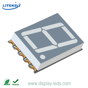 0.56 Inch Single Digit Numeric SMD Display