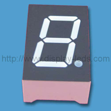 0.5 inch dual color 7 segment Display