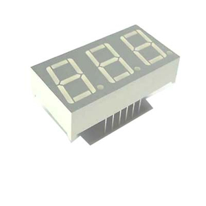0.4 Inch 3 Digits 7 segment led Display