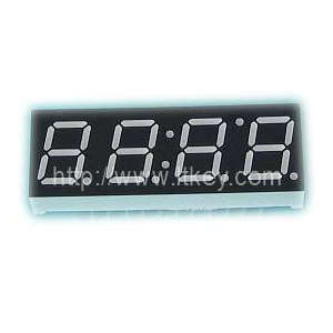 0.39 Inch quadruple Digits clock led Display