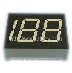 0.45 Inch 2.5 Digits 7 segment led Display