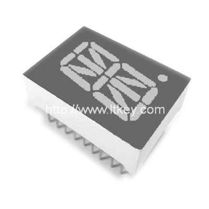 0.5 inch alphanumeric LED Display with common pin 10