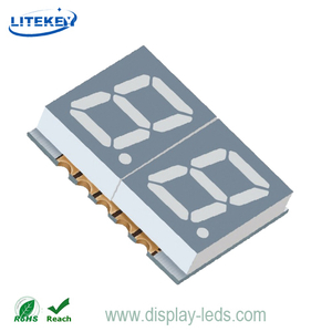 0.39 Inch Dual Digit 7 Segment SMD Display