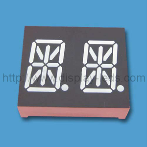 0.54 inch dual digit 14 segment Display