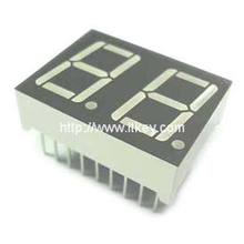 0.56 inch dual digit numeric led Display with multiplex circuit