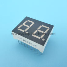 LD4021G/H Series - 0.4 inch 2 digit 7 segment display with multiplex circuit