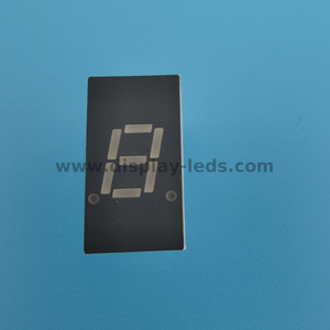 LD3011C/D Series - 0.3 inch 7 segment single digit display with common pin 1&6